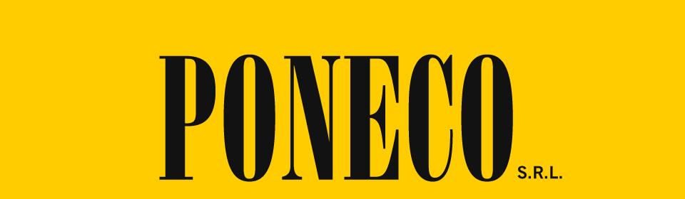 Poneco logo giallo