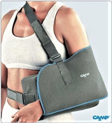 Tutore di spalla per abduzione 15°