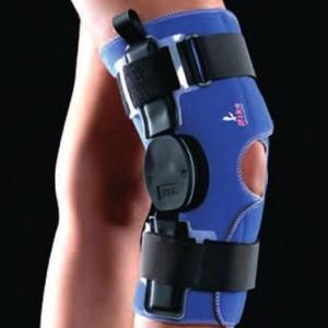 Instabilità laterale e mediale, lesioni legamenti collaterali, ripresa dell'attività sportiva. Ginocchiera a controllo graduat
