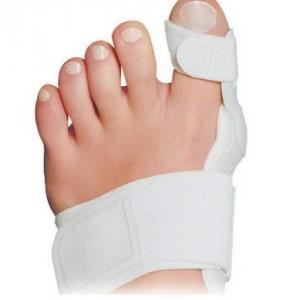 Sostiene il piede ad ogni passo, protegge la sporgenza ossea ed elimina la borsite reattiva. Studiato per l'impiego sia diurno e dinamico che notturno statico.
