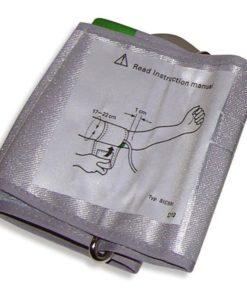 Il bracciale può essere collegato a vari misuratori di pressione OMRON