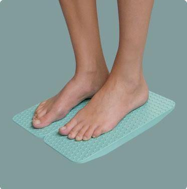 Tavoletta doppia per rieducazione PROPRIOCETTIVA distorsioni di caviglia