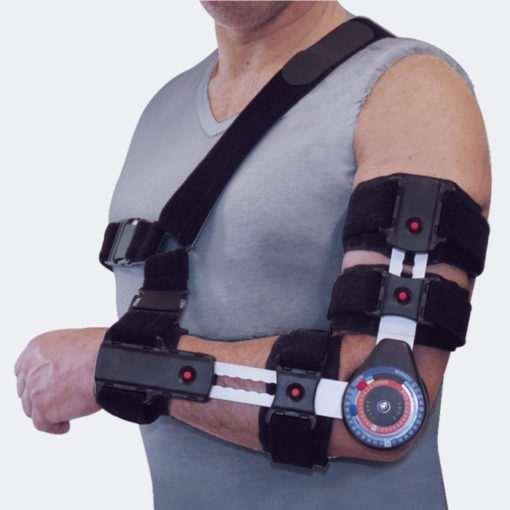 Tutore di gomito brevettato ambidestro UNIBOR 01