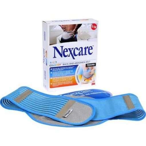 Cintura Termica Lombare NexCare con Cuscino Gel per Terapia caldo/freddo