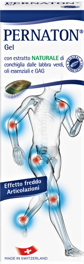 gel pernaton terapia freddo articolazioni