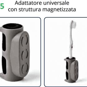 Elemento TACTEE adattatore universale con struttura magnetizzata