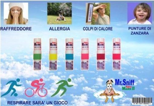 MR. SNIFF Stick 2 in 1 rinfrescante e olio aromatico